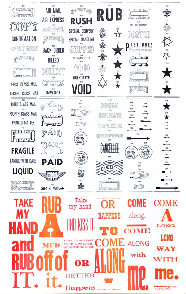 Rub a poster by Beautiful Angle